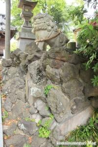八幡神社(足立区鹿浜)12
