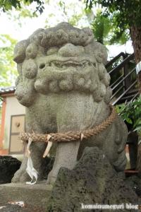 八幡神社(足立区鹿浜)13