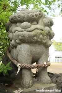八幡神社(足立区鹿浜)17