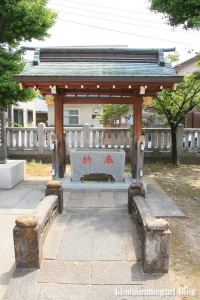 赤城神社(足立区谷在家)6