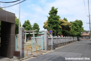 赤城神社(足立区谷在家)1