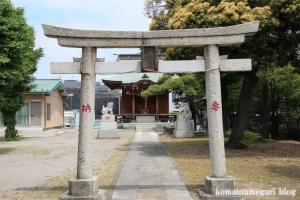 赤城神社(足立区谷在家)2
