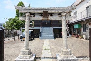 北野神社(足立区江北)2