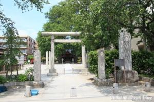 興野神社(足立区興野)1