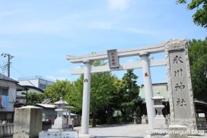 氷川神社(足立区本木西町)1