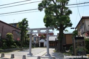 御嶽神社(足立区本木東町)1