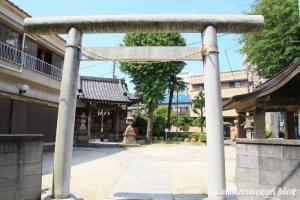 氷川神社(足立区足立)1