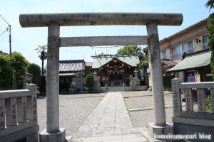 高砂神社(足立区足立)2