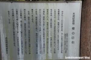 奈良豆比古(ならつひこ)神社(奈良市奈良坂町奥垣田)3