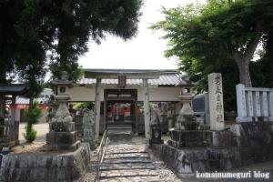 宅春日社(奈良市白毫寺町)1