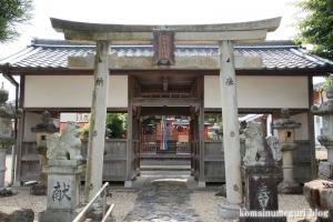 宅春日社(奈良市白毫寺町)4