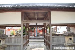 宅春日社(奈良市白毫寺町)7