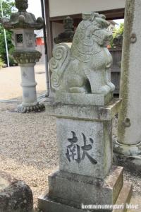 宅春日社(奈良市白毫寺町)26