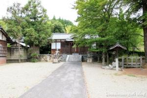 白山神社(白山比咩神社)(桜井市黒崎)1