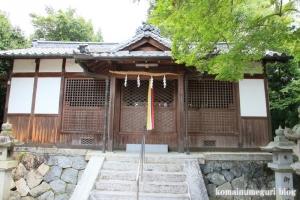 白山神社(白山比咩神社)(桜井市黒崎)7