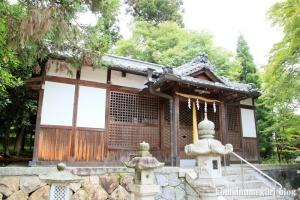 白山神社(白山比咩神社)(桜井市黒崎)8