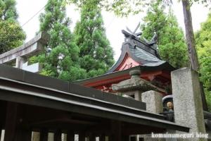 白山神社(白山比咩神社)(桜井市黒崎)9
