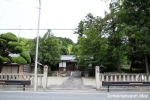 白山神社(白山比咩神社)(桜井市黒崎)20