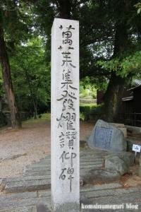 白山神社(白山比咩神社)(桜井市黒崎)2