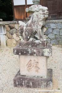 白山神社(白山比咩神社)(桜井市黒崎)14