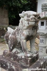 白山神社(白山比咩神社)(桜井市黒崎)15