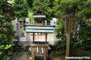 玉列(たまつら)神社(桜井市慈恩寺)8