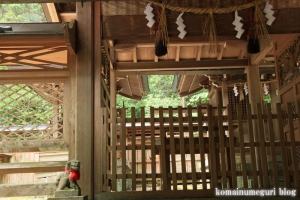 等彌(とみ)神社(桜井市桜井)47