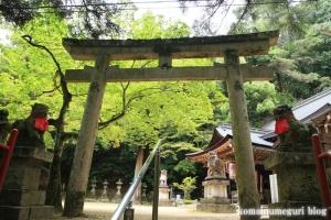 等彌(とみ)神社(桜井市桜井)79
