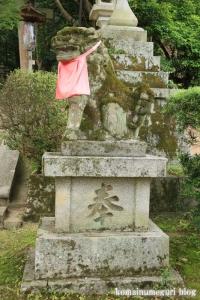 等彌(とみ)神社(桜井市桜井)10