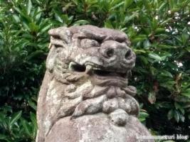 東照宮・諏訪神社(行田市本丸)20