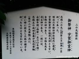 東照宮・諏訪神社(行田市本丸)35