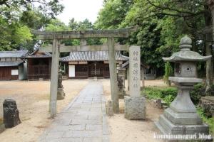 国津神社(桜井市箸中)1
