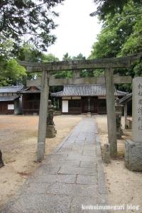 国津神社(桜井市箸中)3