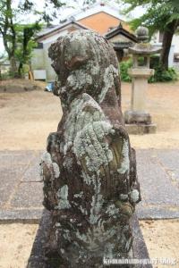 国津神社(桜井市箸中)9