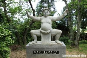 相撲神社(桜井市穴師)4