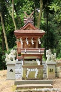 相撲神社(桜井市穴師)6