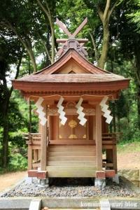 相撲神社(桜井市穴師)10