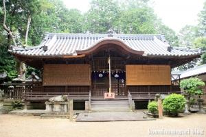和爾下(わにした)神社 (天理市櫟本町)29