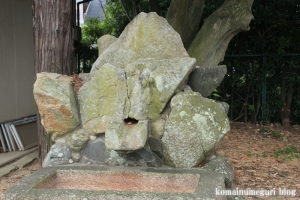 和爾下(わにした)神社 (天理市櫟本町)55