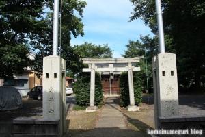 厳島神社(い川越市砂)1