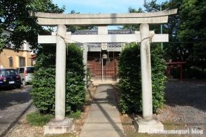 厳島神社(い川越市砂)2