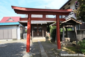 稲荷神社(川越市牛子)3