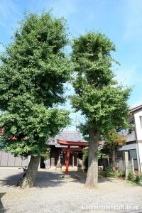 稲荷神社(川越市牛子)1