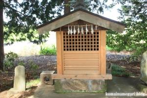 南田島氷川神社(川越市南田島)12
