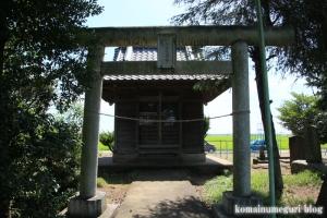稲荷神社(川越市高島)1