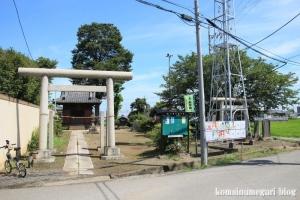 御嶽神社(川越市八ツ島)2