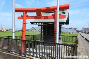一本杉稲荷神社(川越市古谷上)2