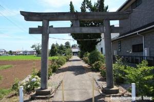 鴨田八幡神社(川越市鴨田)1