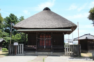 薬師神社(川越市伊佐沼)1