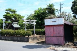 金精稲荷神社(川越市鴨田)1